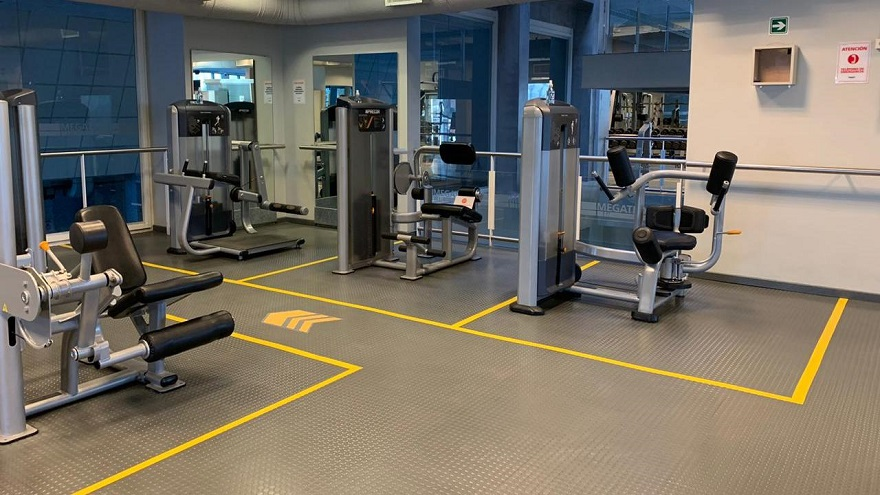 Los gimnasios están dentro de los rubros más afectados por las restricciones.