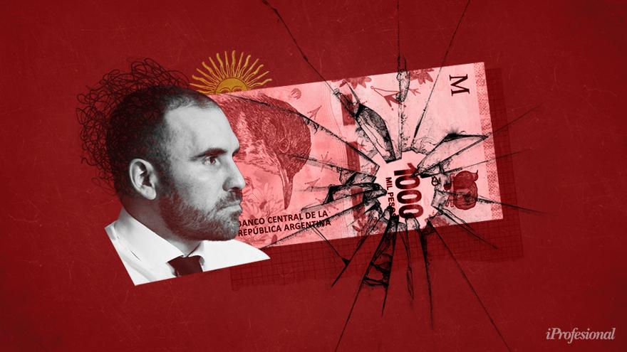 Si Guzmán no logra refinanciar toda la deuda, dependerá de la asistencia del BCRA y eso golpeará al dólar y precios