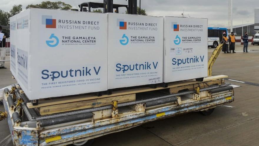 Argentina sigue recibiendo dosis de Sputnik V