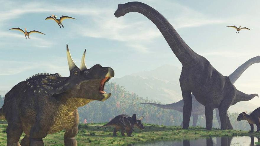 La posibilidad de recrear dinosaurios y