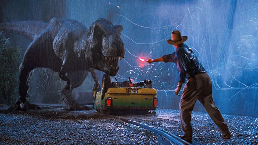 Las complicaciones típicas de los zoológicos de dinosaurios.