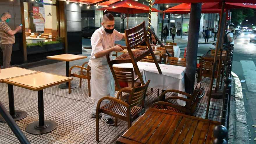 El nivel de actividad de los restaurantes no supera el 15 por ciento desde que se aplicaron las restricciones.