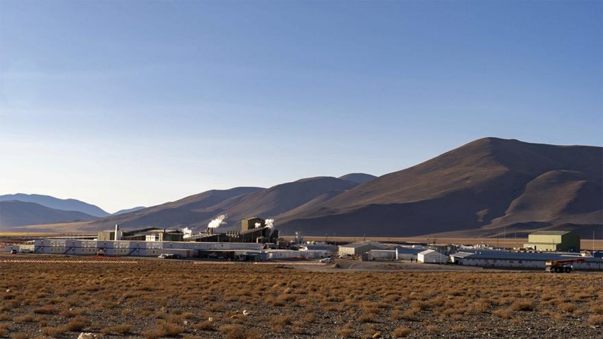 Instalaciones de la minera Livent en Catamarca.