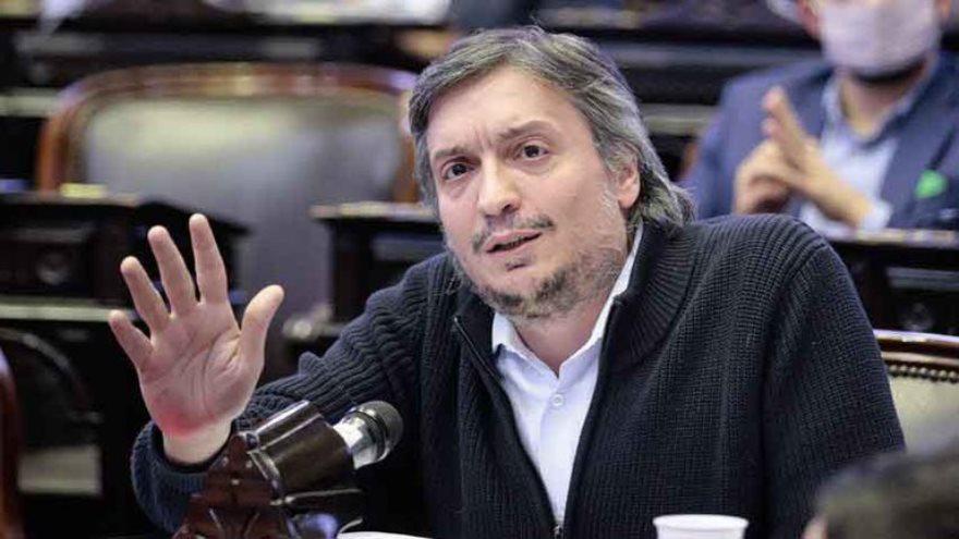 Máximo Kirchner encabeza el ranking, según su declaración jurada ante la OA