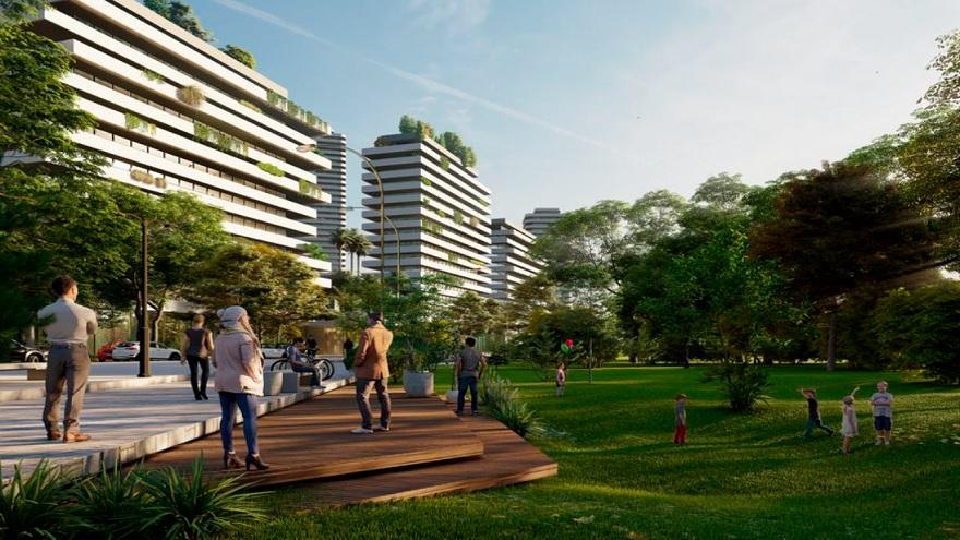 El proyecto de IRSA se presenta como una continuidad de Puerto Madero