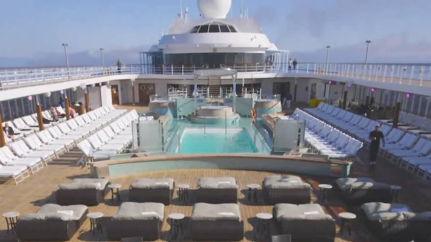 Los huéspedes estarán 132 noches en el crucero