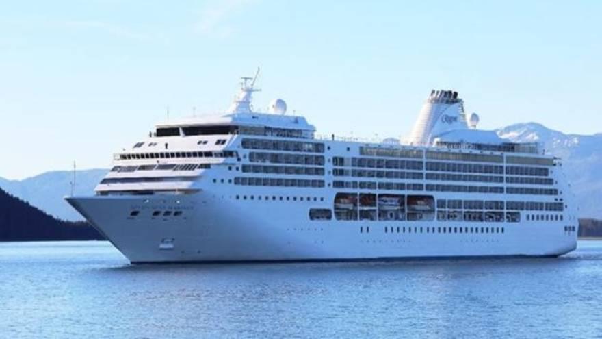 El crucero da la vuelta al mundo, pero en poco más de 80 días