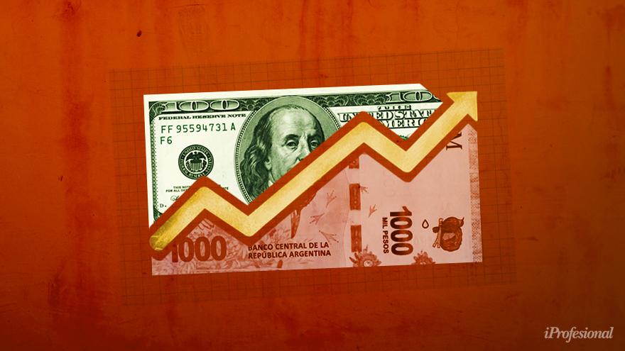 El precio en pesos argentinos del dólar en los vecinos país puede llegar a ser de hasta $880.