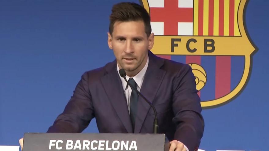 Messi no quiso confirmar todavía su pase al PSG: