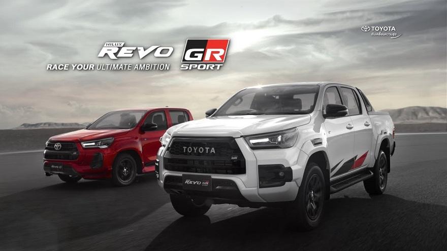 Detalles de la nueva Toyota Hilux GR Sport.