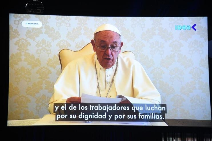 El papa Francisco en IDEA: