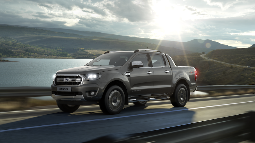 Ford Ranger, la tercera pick up más vendida.