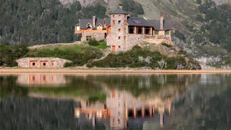 La casa de Marcelo Tinelli en Esquel