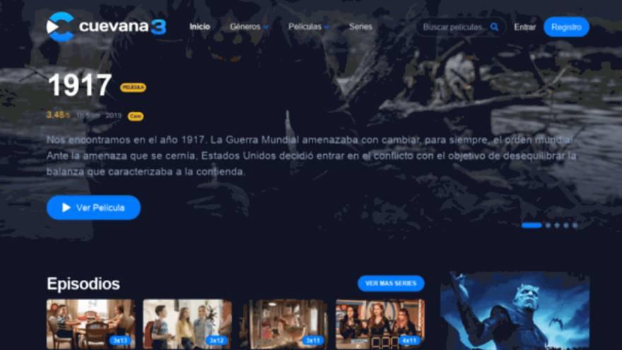 Cuevana3 es uno de los sitios para ver películas de manera gratuita