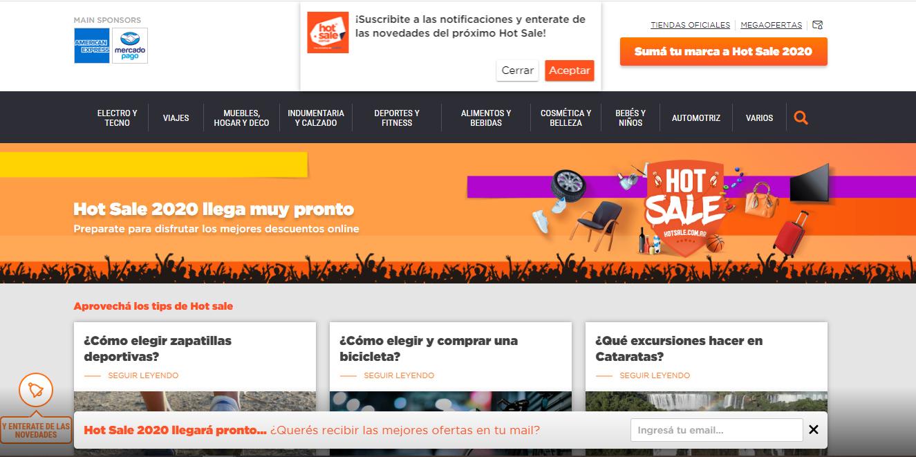 La cuarentena obligó a los organizadores a posponer dos veces la acción promocional de comercio electrónico