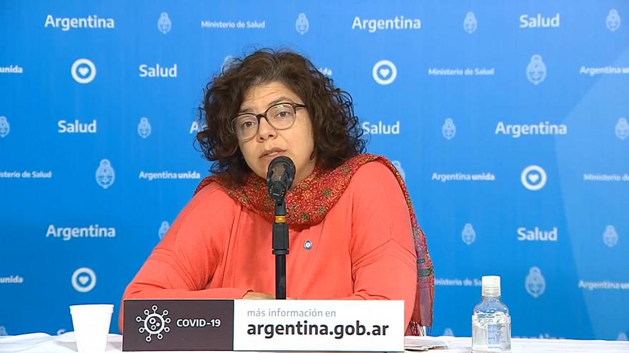 Los funcionarios informaron acerca de la situación en Argentina