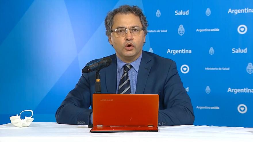 El Dr. Alejandro Costa informa diariamente acerca de los números del coronavirus en Argentina