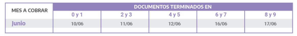 Estas son las fechas de cobro de la asignación por Prenatal y por Maternidad
