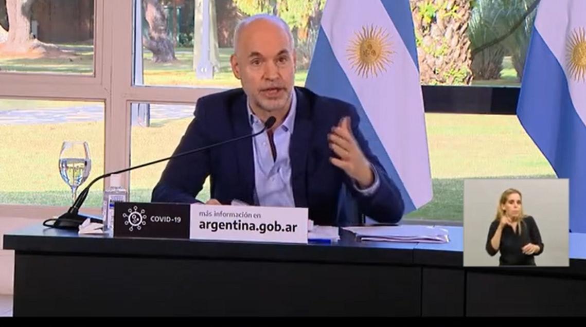 Rodríguez Larreta explicó cuáles serán las medidas nuevas en la Ciudad de Buenos Aires