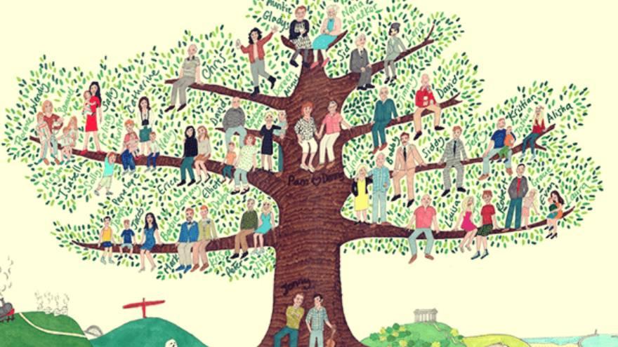 La biodescodificación del árbol genealógico cree que los problemas pueden repetirse entre generaciones