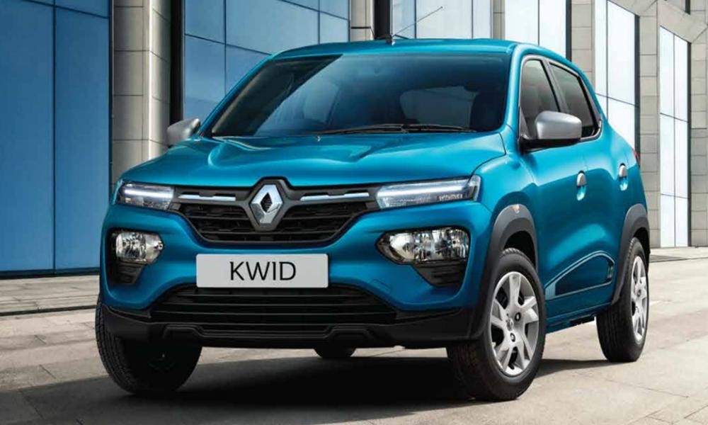 Renault Kwid, otro de los más económicos del mercado.
