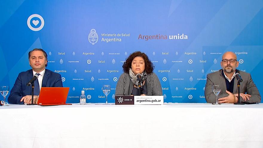Las autoridades sanitarias argentinas informaron este miércoles sobre la situación a nivel país