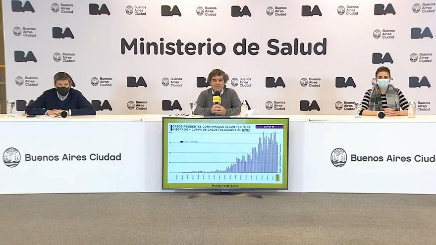 El ministro de Salud porteño le respondió al Presidente y apuntó a los convenios del PAMI