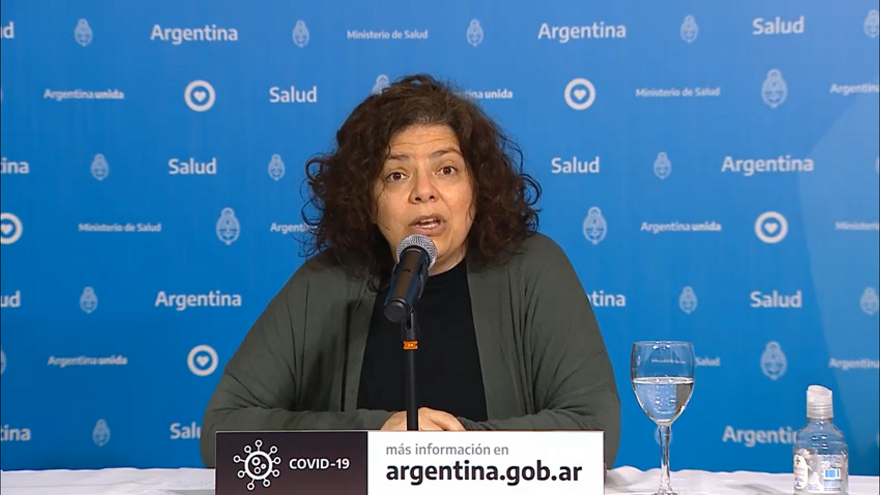 Este lunes se reportaron 4.192 casos nuevos de coronavirus en Argentina