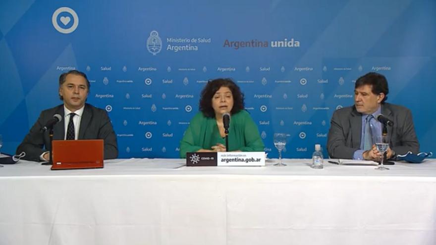El último informe del ministerio de Salud indica que en Argentina fallecieron 3.200 personas por coronavirus