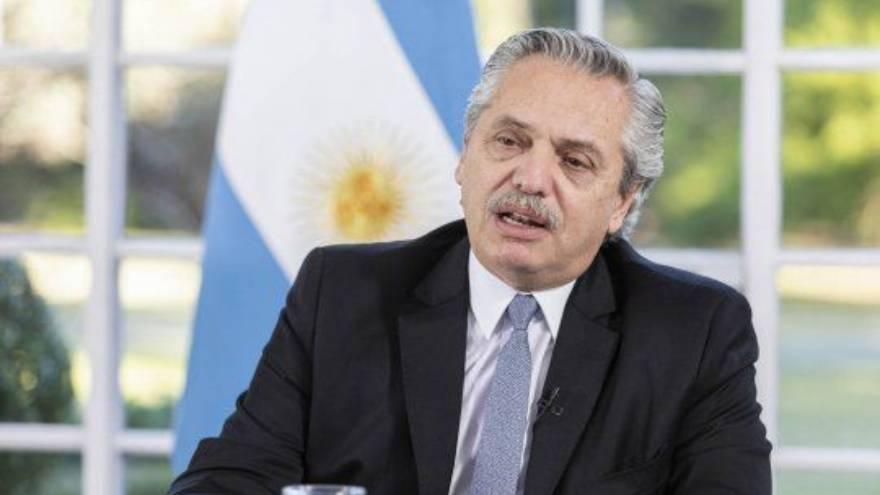 Alberto Fernández dijo que la transacción fue histórica por las circunstancias internacionales.
