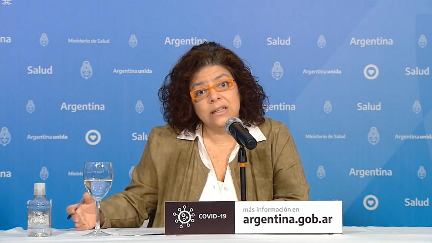 La Lic. Carla Vizzotti recordó las medidas de seguridad que la población debe tomar para prevenir el contagio