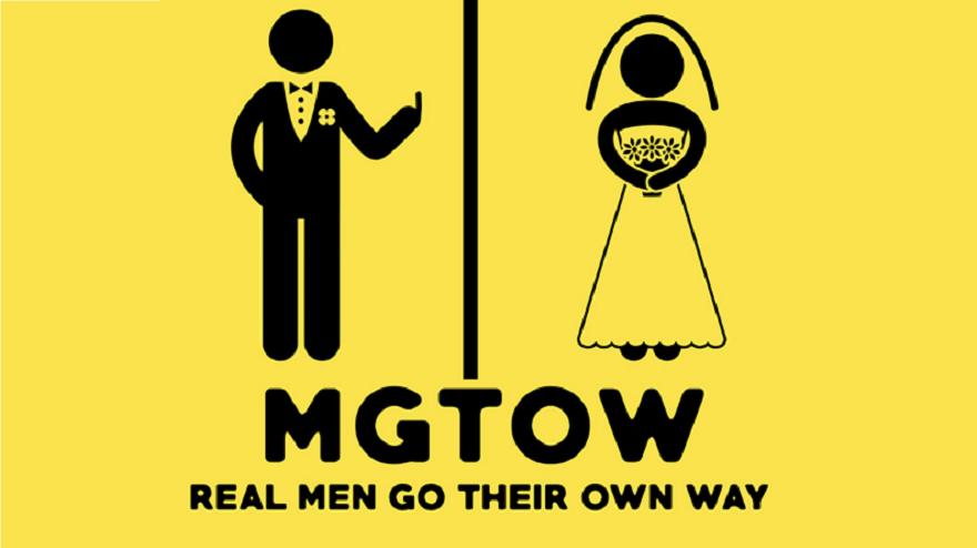 Este es el logo del movimiento misógino mencionado