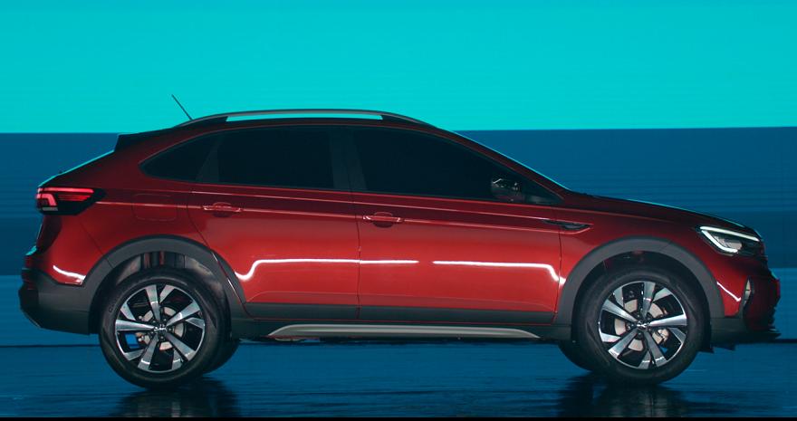 Volkswagen Nivus, debuta entre los SUV más chicos.
