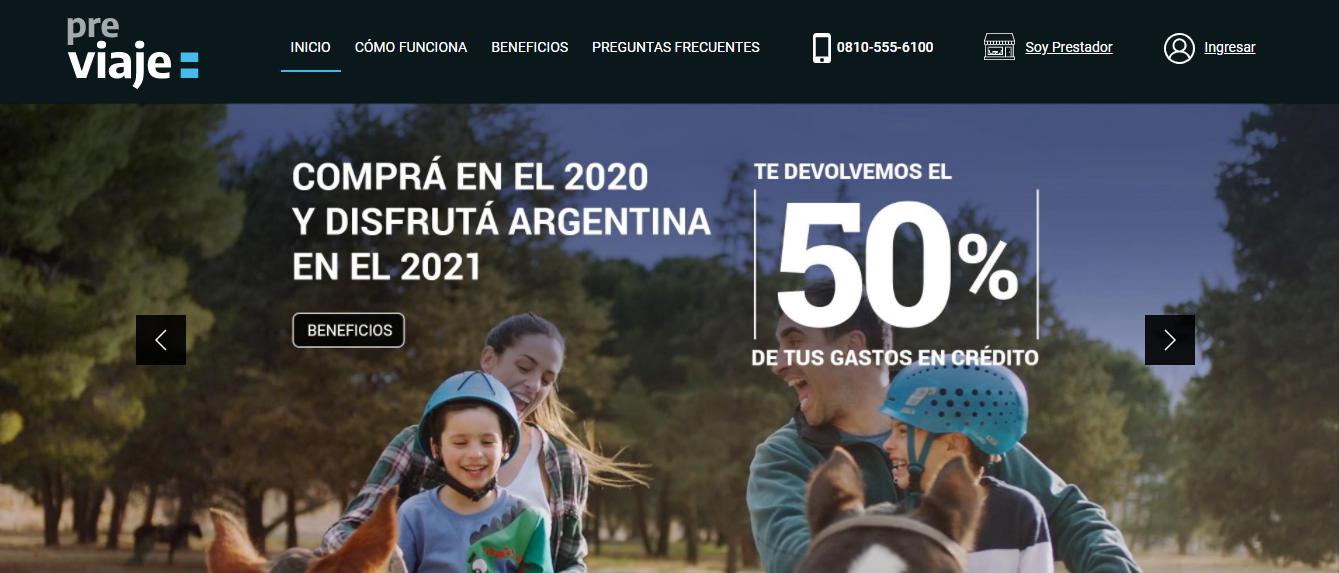 El plan Previaje está impulsando el movimiento en el sector turístico y las ventas respecto de septiembre son altamente significativas