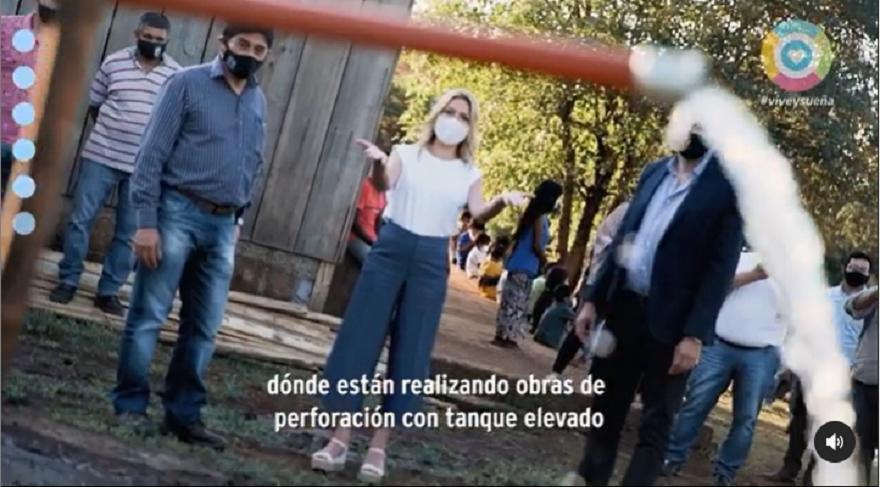 Fabiola Yáñez compartió un video en su cuenta de Instagram