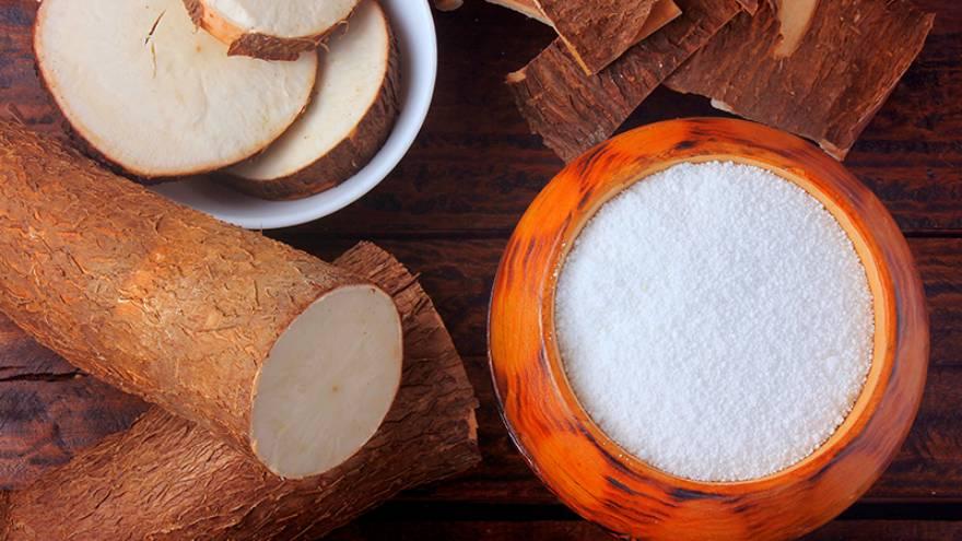 La fécula de mandioca es uno de los ingredientes clave para hacer chipa