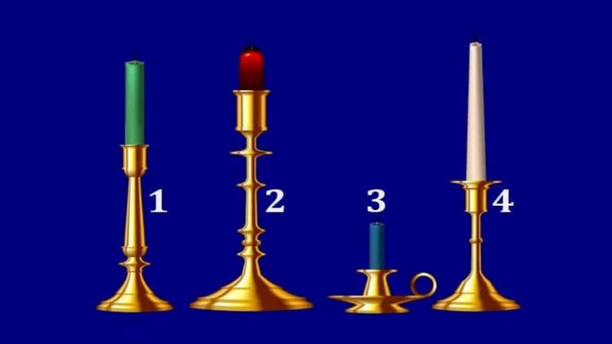 Elegi una de estas cuatro velas y descubrí qué sentimiento es el que más necesita tu alma en este 2021