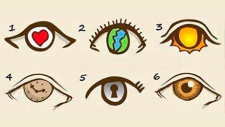 El ojo que escojas va a revelar un rasgo de tu personalidad