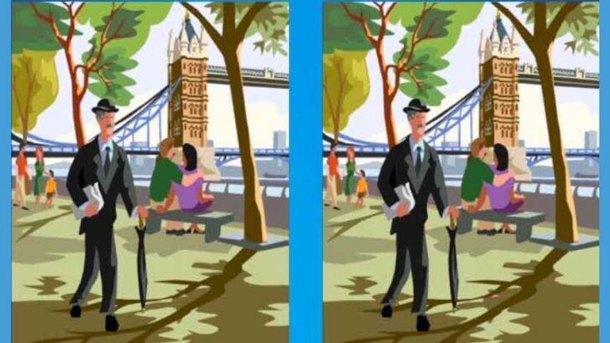 Primer ejercico: buscá la diferencia entre estas dos imágenes