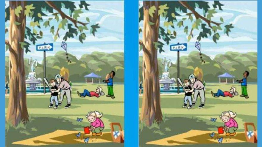 Segundo ejercico: buscá la diferencia entre estas dos imágenes