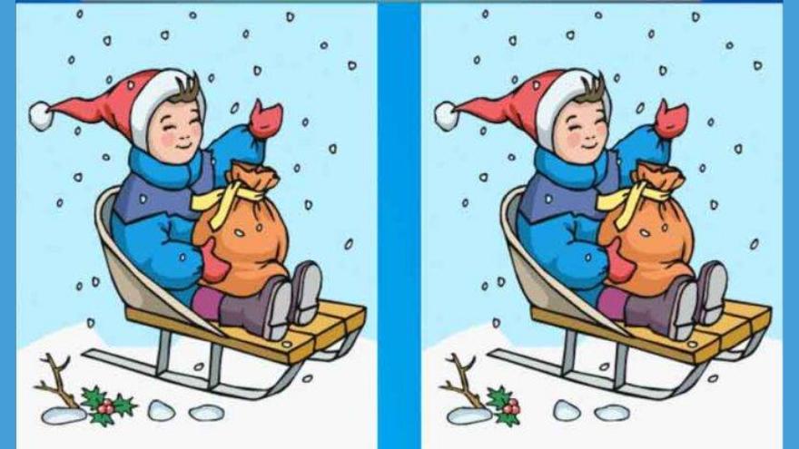 Tercer ejercico: buscá la diferencia entre estas dos imágenes