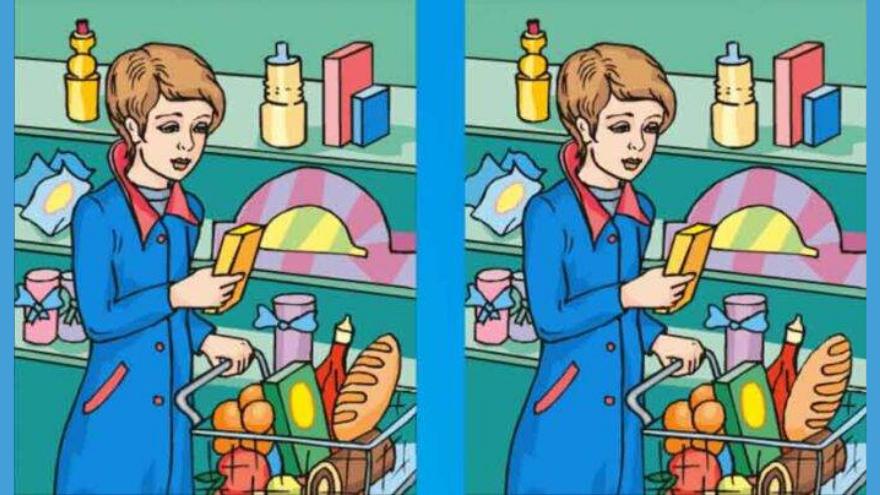 Cuarto ejercico: buscá la diferencia entre estas dos imágenes
