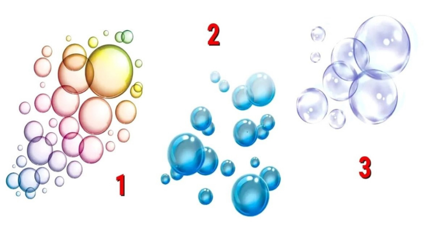 Cada una de estas burbujas representa un tipo de temor. Elegí la que más te gusta y descubrí el tuyo