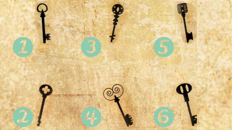 Elegí la llave que más se alinea con tu personalidad y descubrí qué puede revelar sobre vos