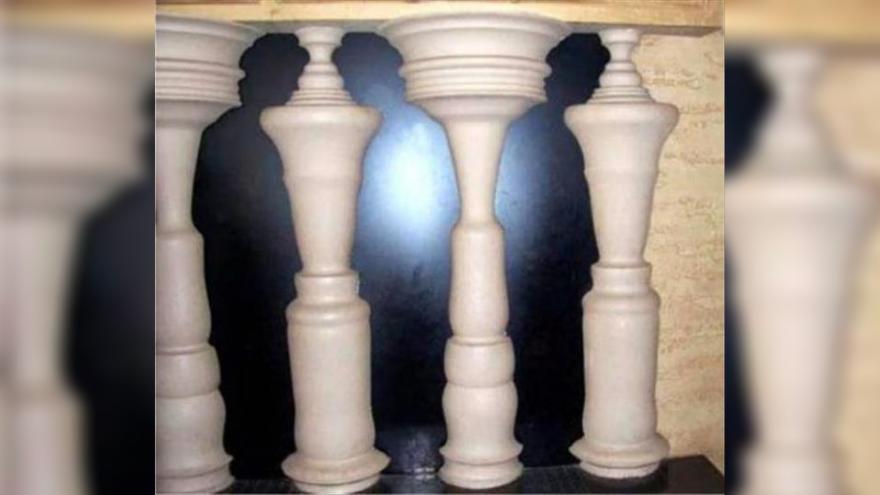 Hombres o columnas: lo primero que distingas revelará tu manera de ser