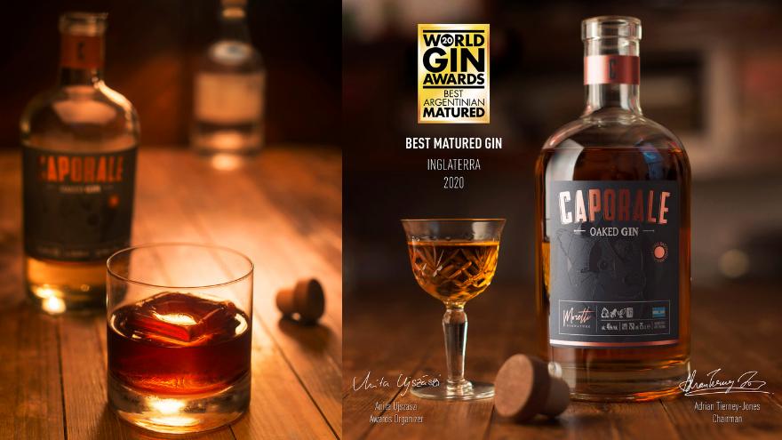 Dos de sus variantes de gin patagónicas fueron premiadas por World Gin Awards
